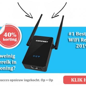 Uw internet in huis verbeteren met de beste wifi repeater!